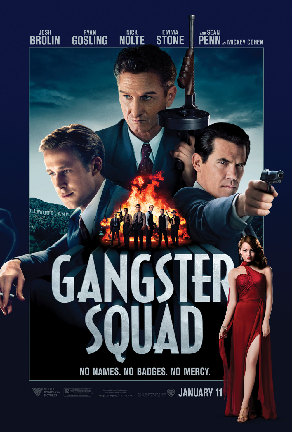 Gangster Squad Advance Screening