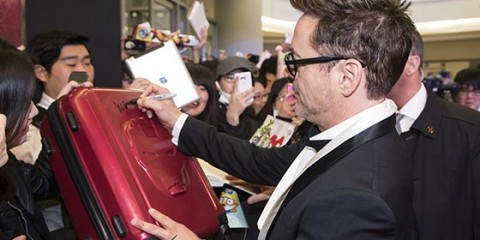 """Marvel's Iron Man 3"" Robert Downey Jr. Korea Tour - Red Carpet"