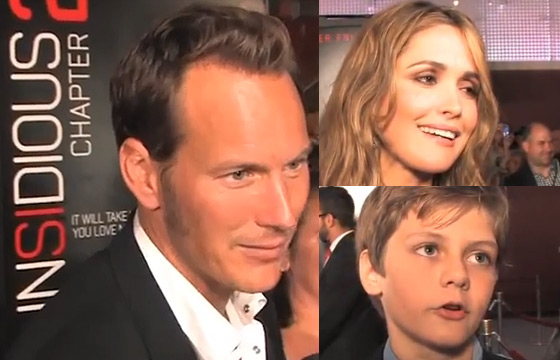 Insidious Chapter 2 Our Video Interviews From The Red