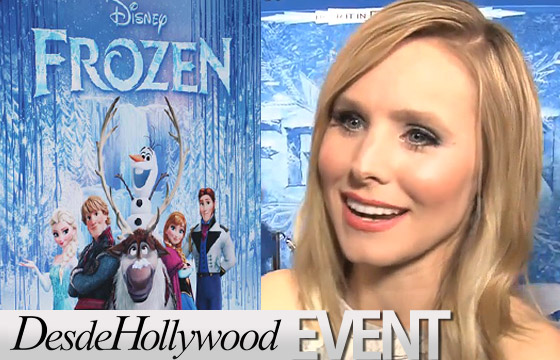 Kristen Bell warms up to 'Frozen'
