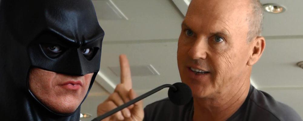 Bruce wayne michael keaton