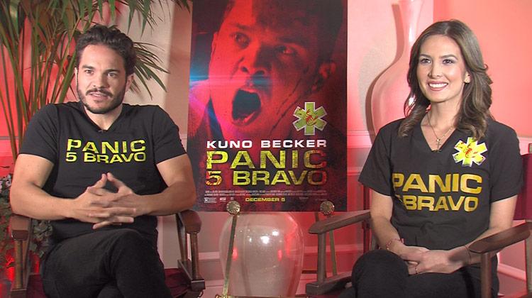 Panic 5 Bravo PANIC 5 BRAVO Entrevista Exclusiva a Kuno Becker y Aurora Papile