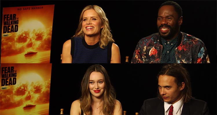 Fear The Walking Dead Season 2 Exclusive Interviews With Cast