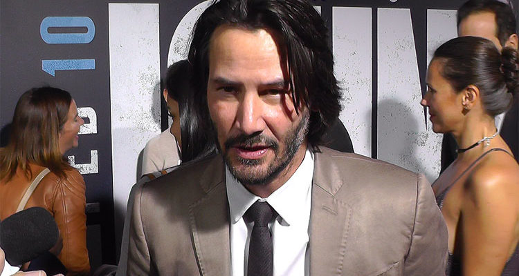 Keanu Reeves And More Talk John Wick Chapter 2 At Hollywood