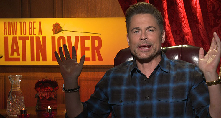 Rob Lowe Talks How To Be A Latin Lover I Am Naked Who Cares