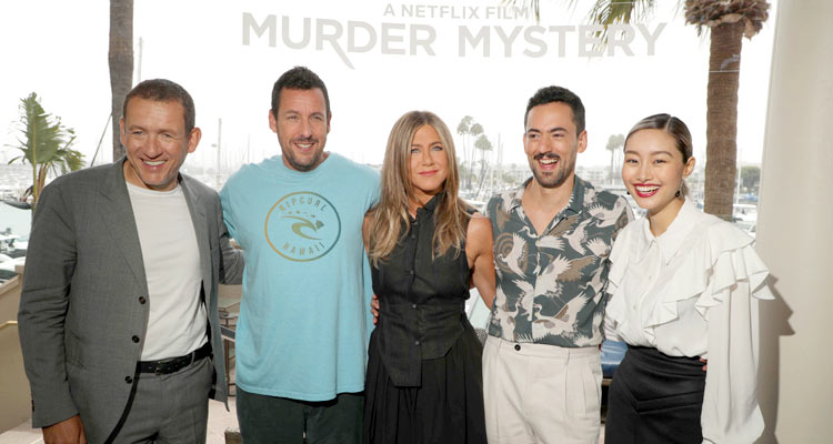 Adam Sandler, Jennifer Aniston and More Talk MURDER MYSTERY