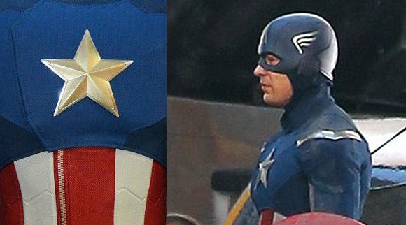 Chris Evans Nuevo Traje Capitan America Los Vengadores The Avengers  2