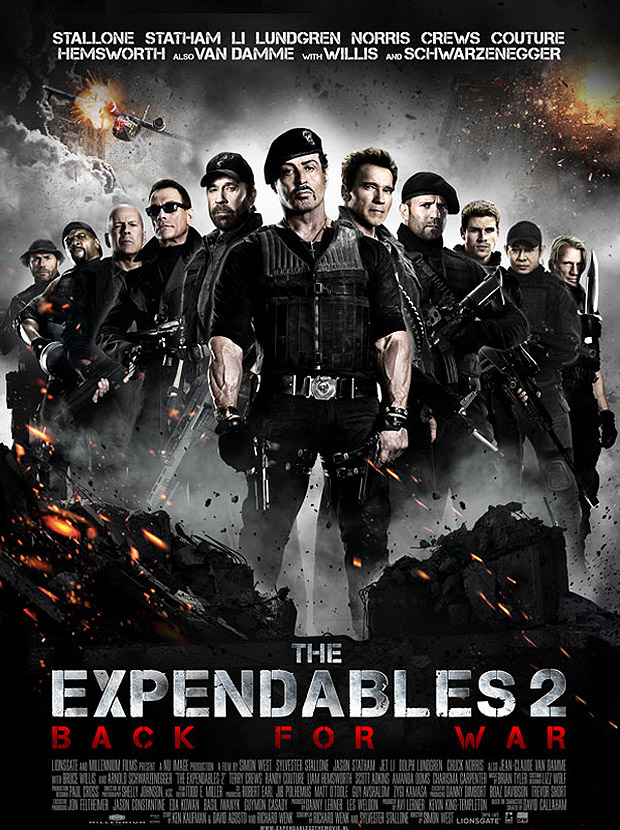 Los Indestructibles 2 [2012] [Dvdrip] [Español Latino]